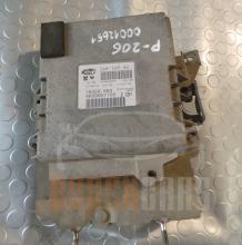 Компютър Peugeot 206 | 1.1 | IAW 1AP.80 | 9639907780 |