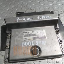 Компютър Peugeot 406 | 1.9 TD | 0 281 001 262 | 96 245 195 80 |