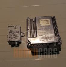 Комплект ЕКУ Имобилайзер БМВ Е46 | BMW E46 | 1998-2007 | 0 281 010 565