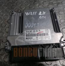 Компютър Mercedes E-Class | W211 | 2.7 CDI | 2004 | A647 153 05 79 | 0 281 011 072 |