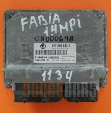 Skoda Fabia 5WP44202