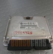 Компютър Audi A4 | 2000-2004 | 2.5 TDI | 180кс | Bosch | 0 281 011 386 | 8E0 907 401 N